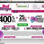 Bidbingo Paypal Slots
