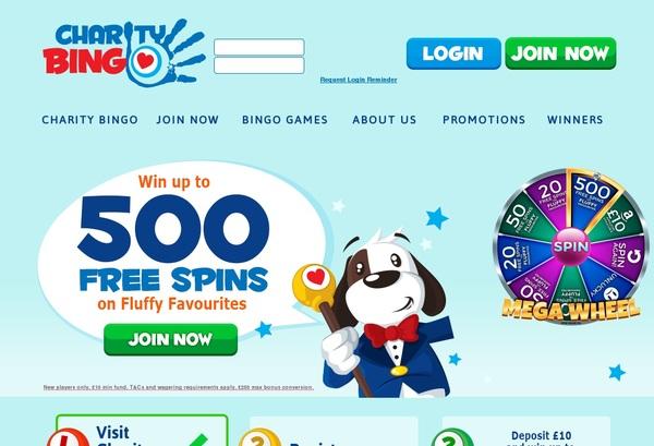 Charity Bingo Deposit Offer
