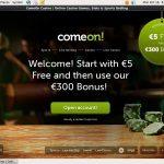 Comeon Poker App