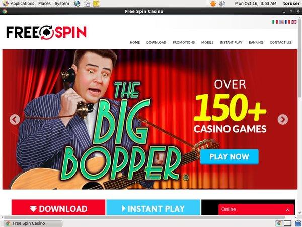 Free Spin Vip Member