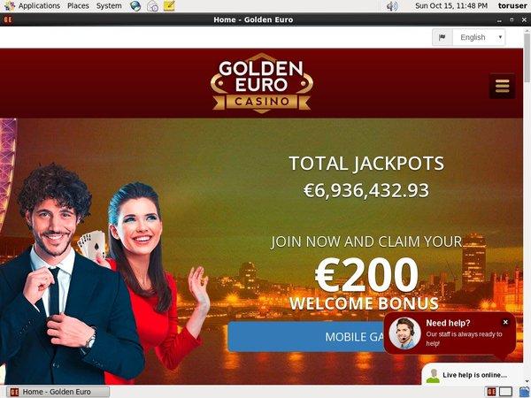 Golden Euro Casino 100 Bonus