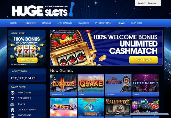 Hugeslots Online Roulette