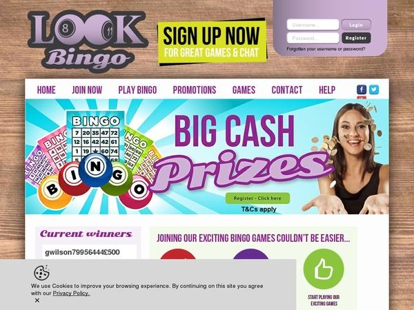 Look Bingo Hent Bonus