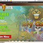 Luckycreek Promotions Vip