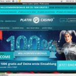 Platincasino Poker Paypal