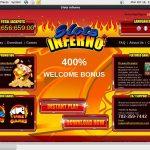Welcome Slots Inferno Bonus