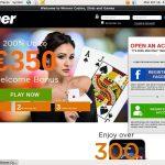 Winner Live Casino Insta Debit
