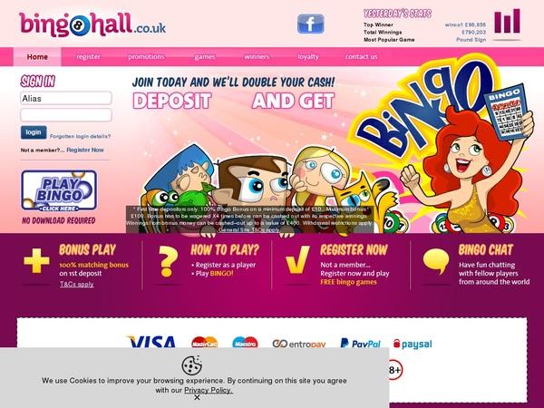 Bingo Hall Giropay