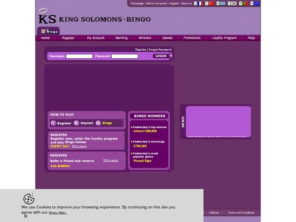 Ksbingo New Customer Offer