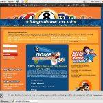 Bingo Dome Place Bet