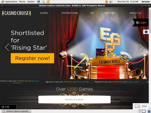 Casino Cruise Odds