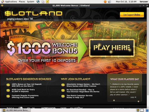 Slotland Nektan Casino