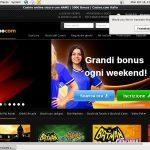 Casino.com Italian Freebet