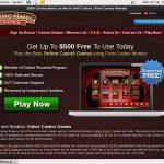 Music Hall Casino Website