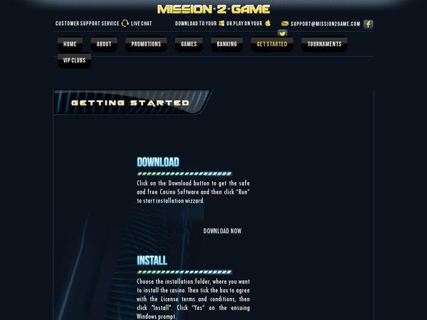 Mission 2 Game Online Casino Sites