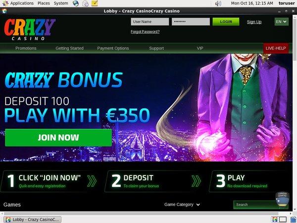 Vip Club Crazy Casino