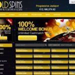 Goldspins Bet Online