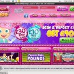 Candy Shop Bingo Registration Page