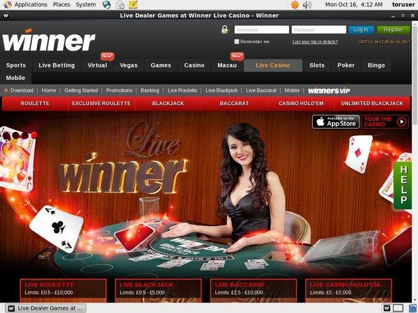 Winner Betting App