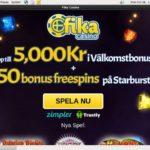 Fika Casino Vip Sign Up