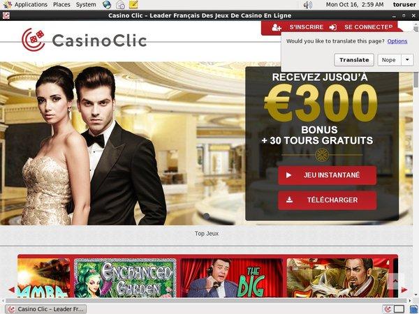 Casinoclic Eu Debit