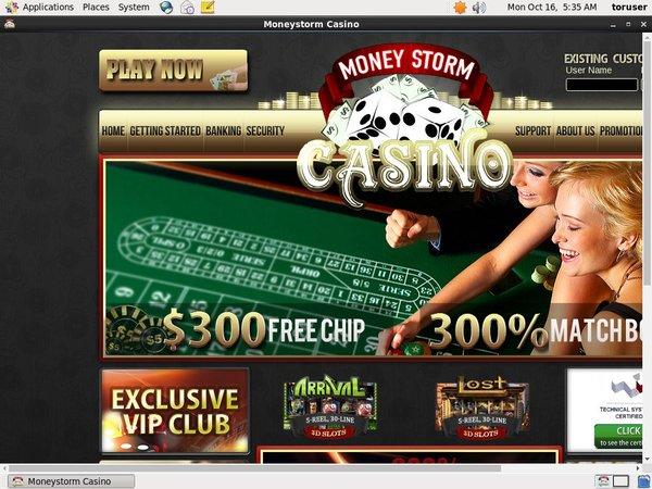 Moneystorm Betting App
