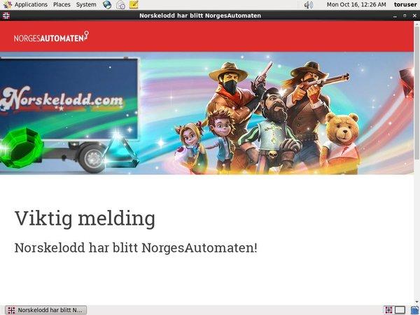 Norgesautomaten Vip Account