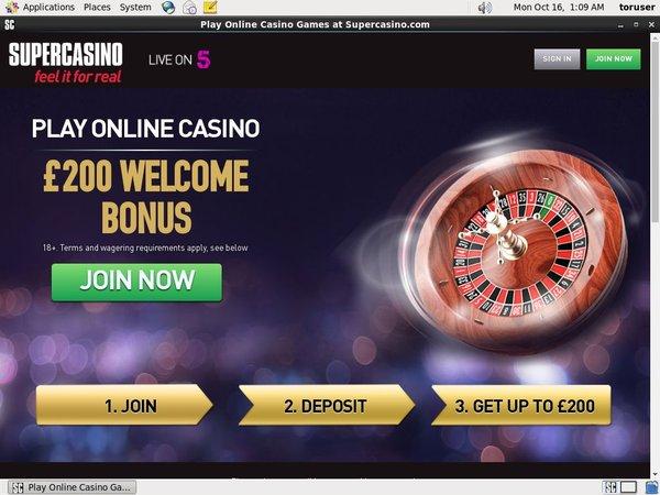 Free Poker Supercasino