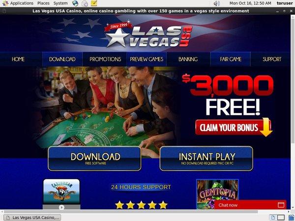 Las Vegas USA Casino Euteller