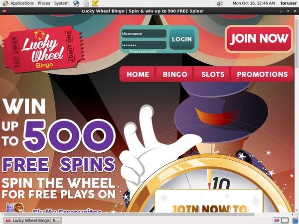 Luckywheelbingo Matched Betting