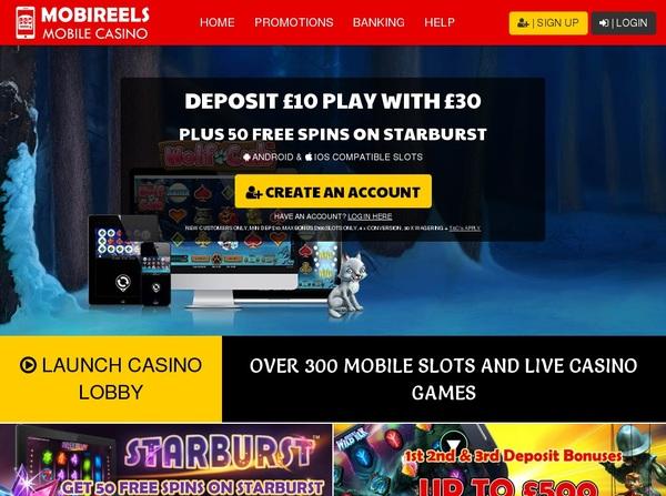 Mobireels First Deposit Bonus